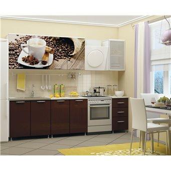 Кухня фотопечать Кофе 2,0м