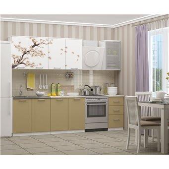 Кухня фотопечать Сакура 2,0м