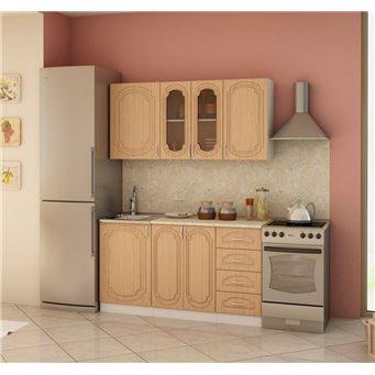 Кухня Настя 1,5м Компоновка 1