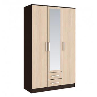 Фиеста Шкаф для одежды 3-дверный
