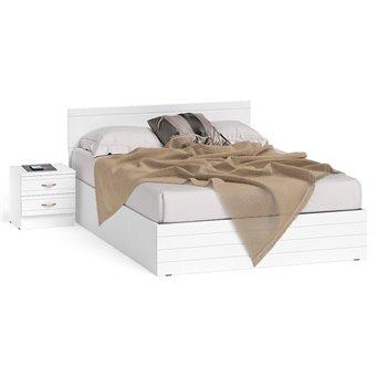Кровать Елена 1400 с прикроватной тумбой