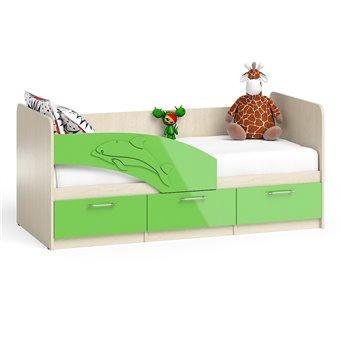 Кровать детская с ящиками Дельфин 1,8
