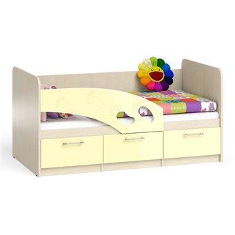 Кровать детская с ящиками Топ-Топ 1,6