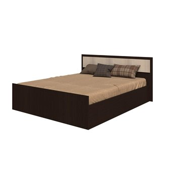 Кровать Фиеста 160х200 венге/лоредо  БТС