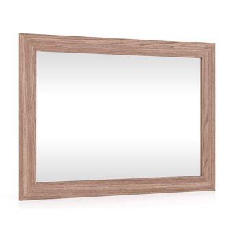 Зеркало подвесное в раме МДФ С-МД-Зеркало ясень шимо тёмный