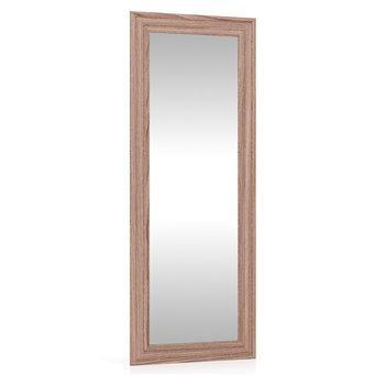 Пэ Пять Зеркало в раме, ясень шимо тёмный, можно вешать горизонтально или вертикально
