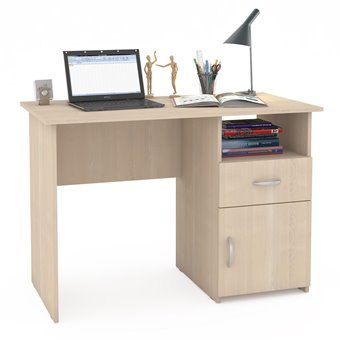 Компьютерный стол Комфорт 11 СК дуб паллада