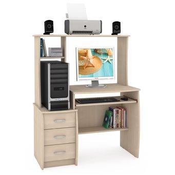 Компьютерный стол Комфорт 5 СК дуб паллада