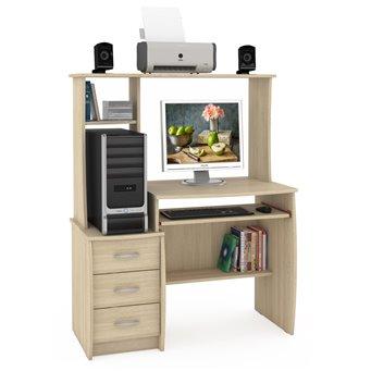 Компьютерный стол Комфорт 5 СК дуб сонома