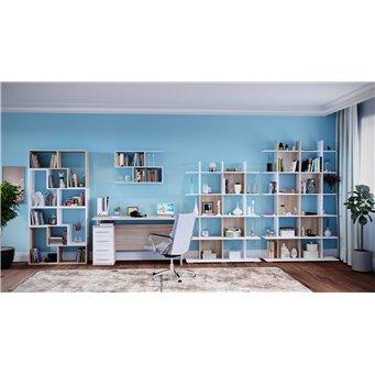Набор мебели Сокол № 1 дуб сонома/белый