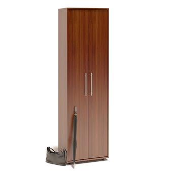 Шкаф для одежды с выдвижной штангой ШО-1 испанский орех