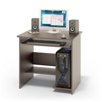 Компьютерный стол КСТ-01 дуб венге