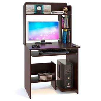 Стол компьютерный КСТ-01.1+КН-01 венге