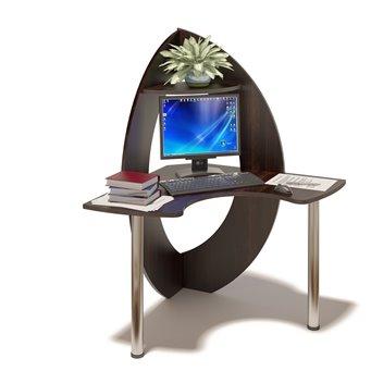 Угловой компьютерный стол КСТ-101 дуб венге