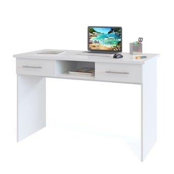 Компьютерный стол КСТ-107 белый