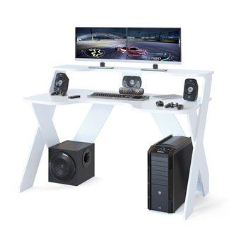Стол компьютерный игровой КСТ-117 белый