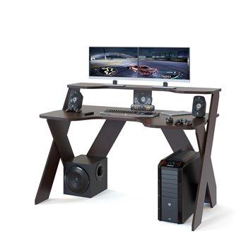 Стол компьютерный игровой КСТ-117 венге