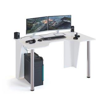 Игровой компьютерный стол КСТ-18 белый