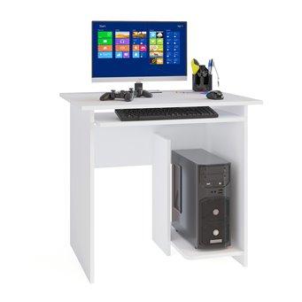 Компьютерный стол КСТ-21 белый