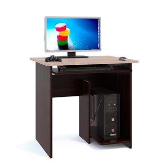 Компьютерный стол КСТ-21 венге/белёный дуб