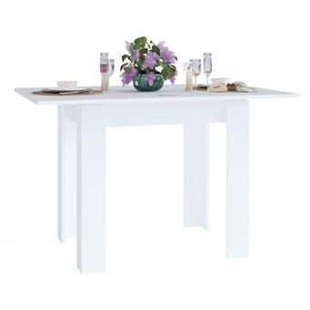 Стол обеденный Сокол СО-1 раскладной белый