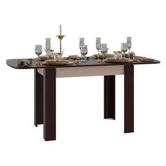 Стол обеденный Сокол СО-3 раскладной белёный дуб/венге