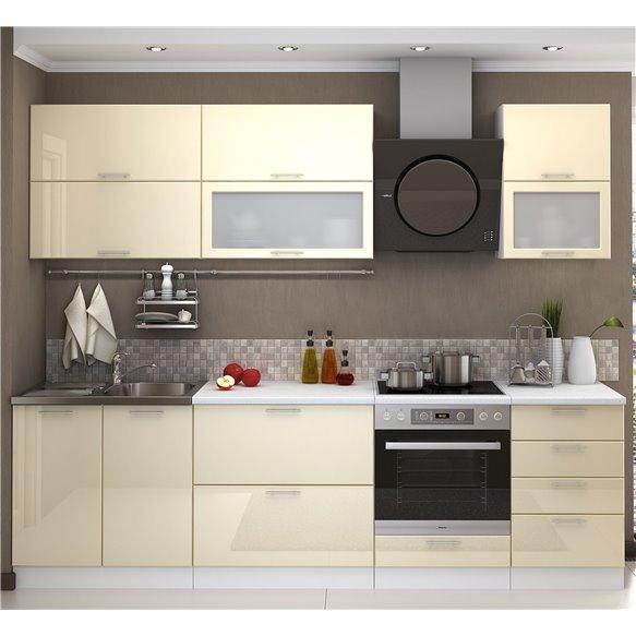 Кухня Глянец ваниль