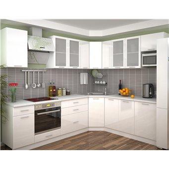 Кухня Глянец белый
