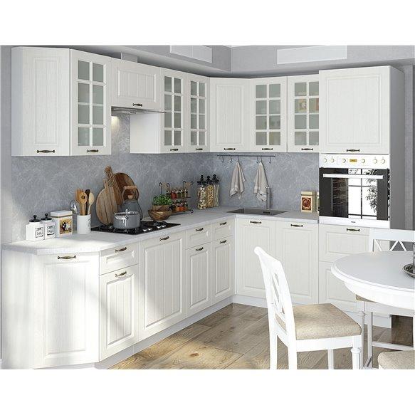 Кухня Полоски белый