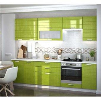 Кухня Ребристая олива