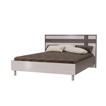 Кровать Презент 1600 с ортопедическим основанием бодега тёмный/бодега светлый