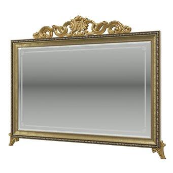 Зеркало с короной Версаль ГВ-06К цвет слоновая кость