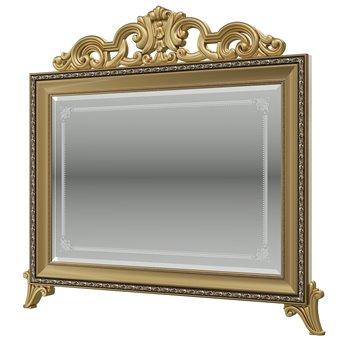 Версаль слоновая кость Зеркало с короной