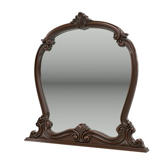 Зеркало Грация цвет орех тайский