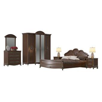 Мебель в спальню Да Винчи 01ОРТ цвет орех