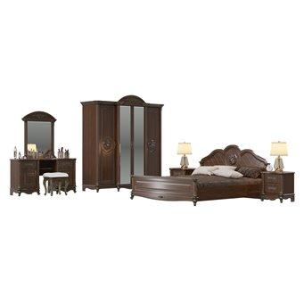 Мебель в спальню Да Винчи 02ОРТ цвет орех