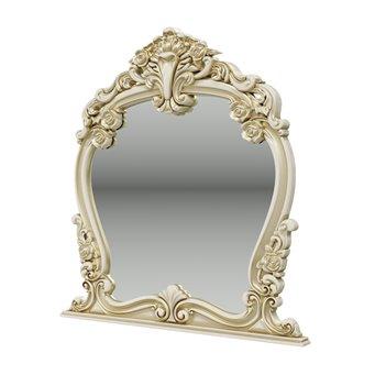 Дольче Вита СДВ-06 Зеркало, цвет слоновая кость/золото