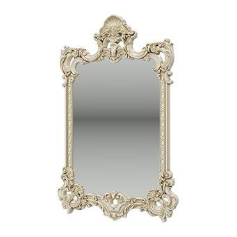 Зеркало ЗК-02 цвет слоновая кость