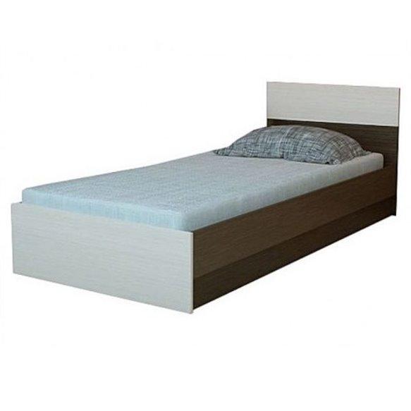 Юнона Кровать 0,8 с основанием Горизонт