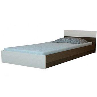 Юнона Кровать 1,2 с основанием Горизонт