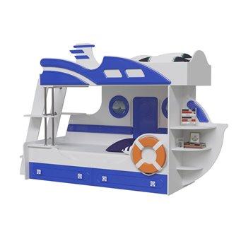 Парус Кровать двухъярусная Яхта-2
