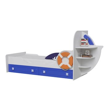 Парус Кровать одноярусная Яхта-1.