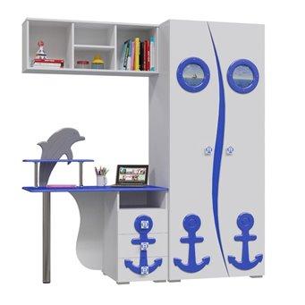 Парус Шкаф П-1 + Стол письменный П-2 + Полка П-3