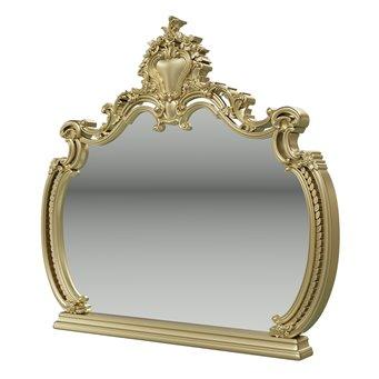 Шейх слоновая кость/золото СШ-06 Зеркало