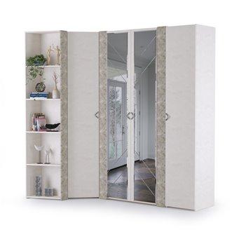 Набор шкафов Амели Моби № 1 цвет шёлковый камень/бетон чикаго беж