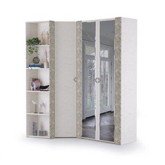 Набор шкафов Амели Моби № 2 цвет шёлковый камень/бетон чикаго беж