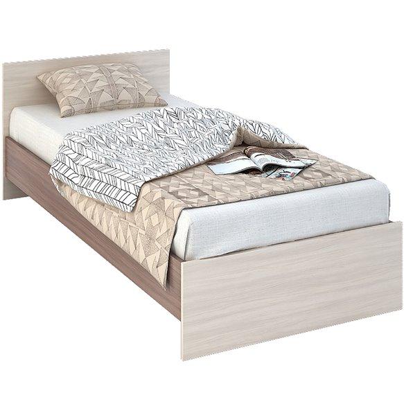 КР 555 Бася ЛДСП кровать 0,9 Стендмебель