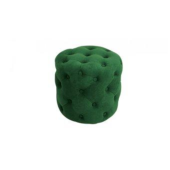 Пуф Милана Тип 1 (Велюр Темно-зеленый)