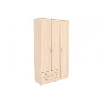 Шкаф для белья со штангой, полками и ящиками арт. 114 Гарун