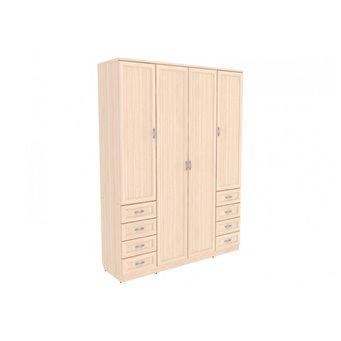 Шкаф для белья со штангой, полками и ящиками арт. 112 Гарун